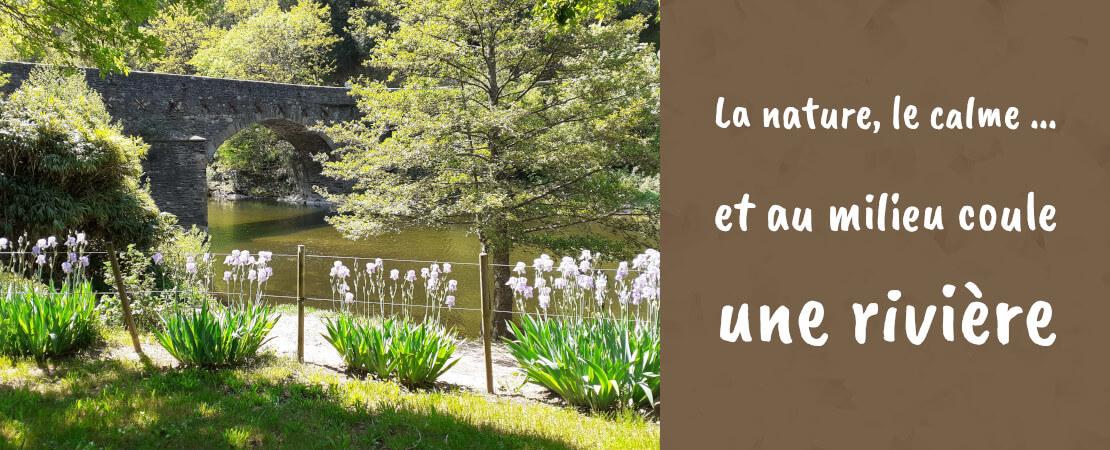 Camping nature proche de Florac en Lozère dans les Cévennes
