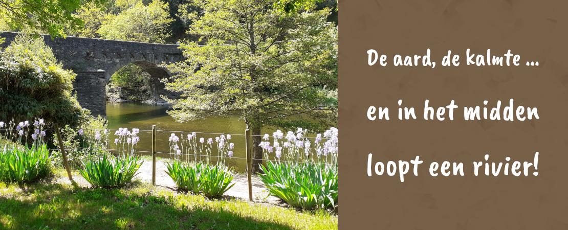 Natuurcamping in de buurt van Florac in Lozere in de Cevennen