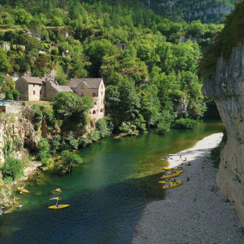 View of Gorges du Tarn