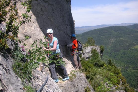 Klettersteig in Lozere